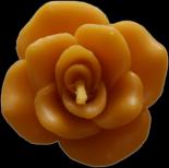 Svíčka plovoucí růže váha 22g výška 3cm cena 15,-Kč